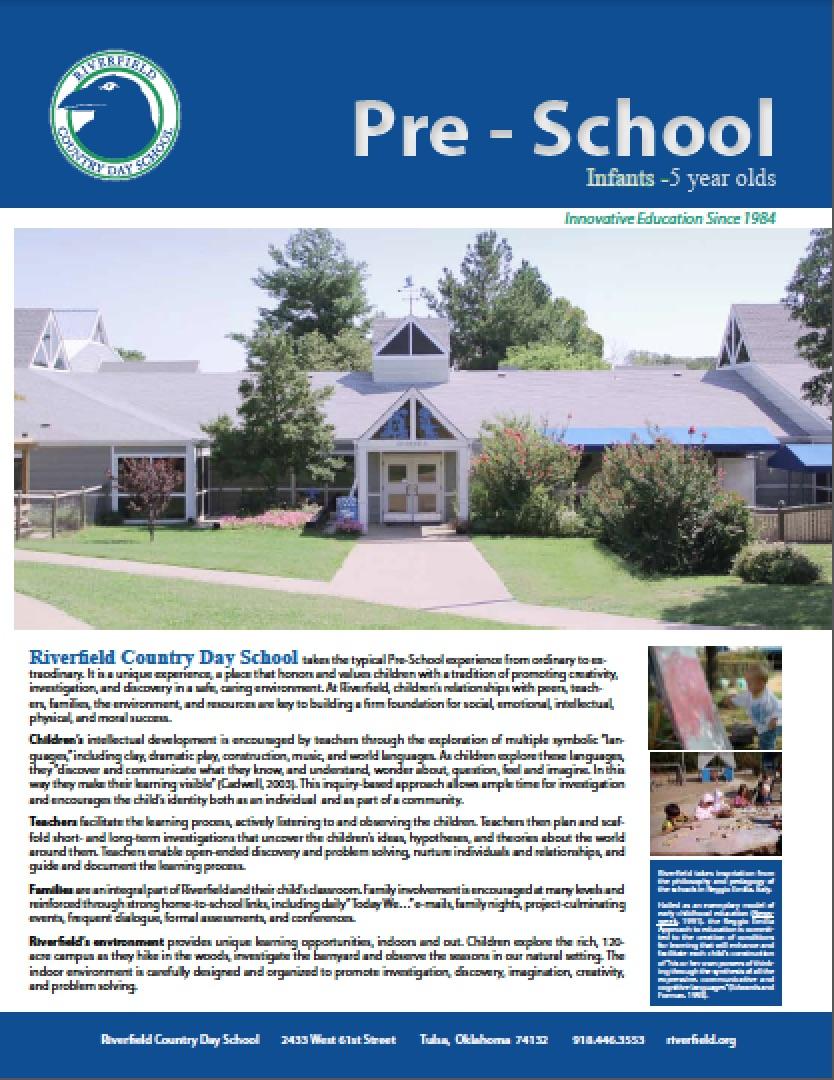 Pre-School Brochure