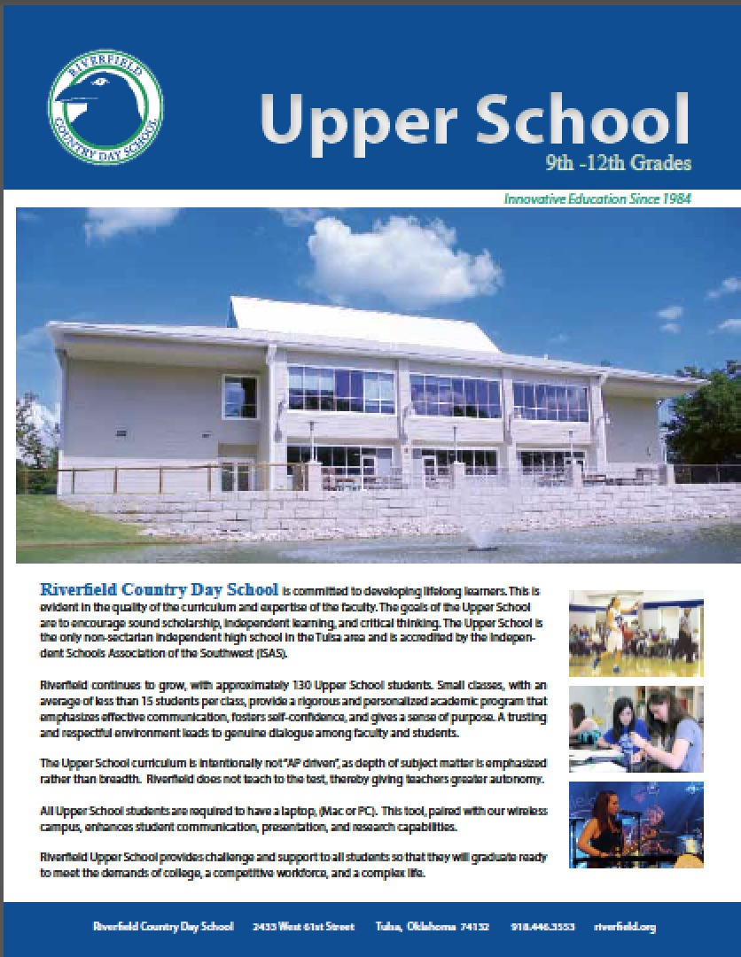 Upper School Brochure